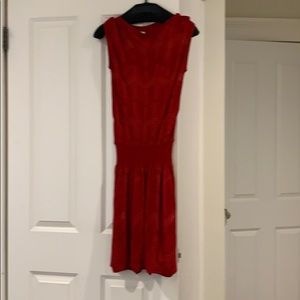 Missoni knit red dress size 38